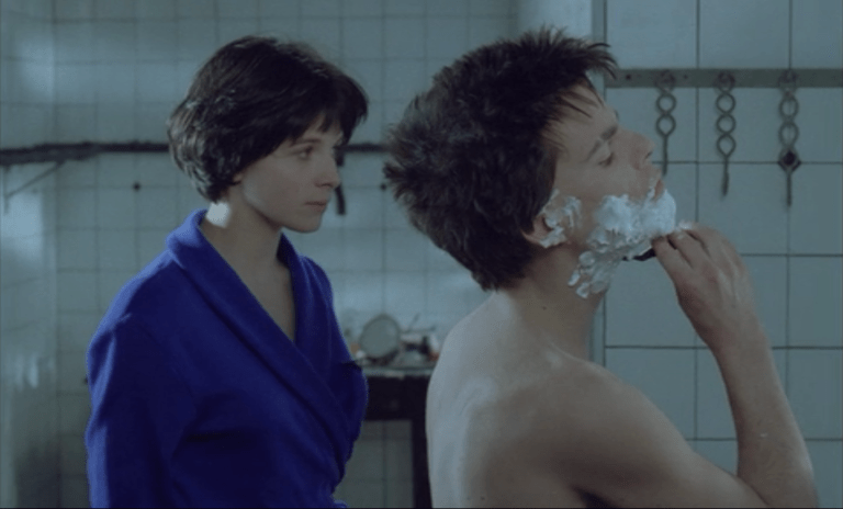 Films in London today: MAUVAIS SANG at Rio Cinema (11 AUG).