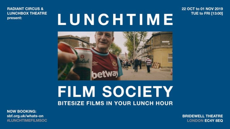 Lunchtime Film Society at The Bridewell Theatre (22 Oct to 01 Nov).