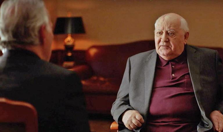 Films in London this week: MEETING GORBACHEV at The Castle Cinema (08 to 14 NOV).