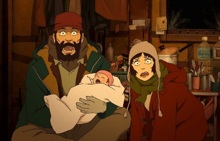 Films in London today: TOKYO GODFATHERS, part of CHRISTMAS AT THE PCC at The Prince Charles (28 NOV).