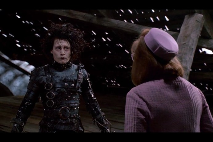 Films in London today: EDWARD SCISSORHANDS at The Cinema Museum (19 DEC).