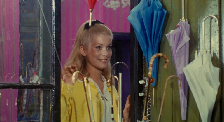 Films in London today: THE UMBRELLAS OF CHERBOURG at Ciné Lumière (06 DEC to 07 JAN).