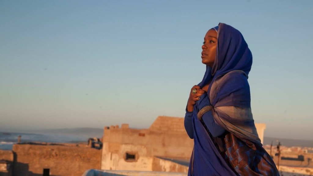 This is a film still from A GIRL FROM MOGADISHU (2019).