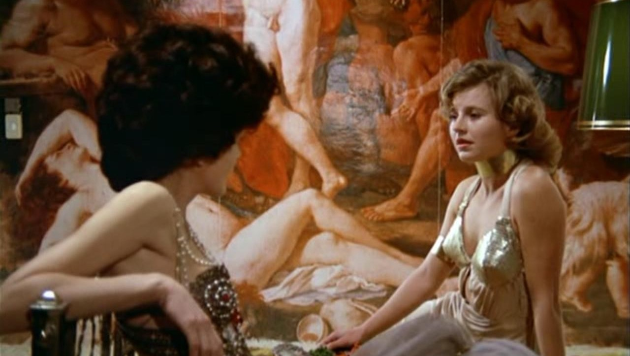 This is a film still from THE BITTER TEARS OF PETRA VON KANT (1972)