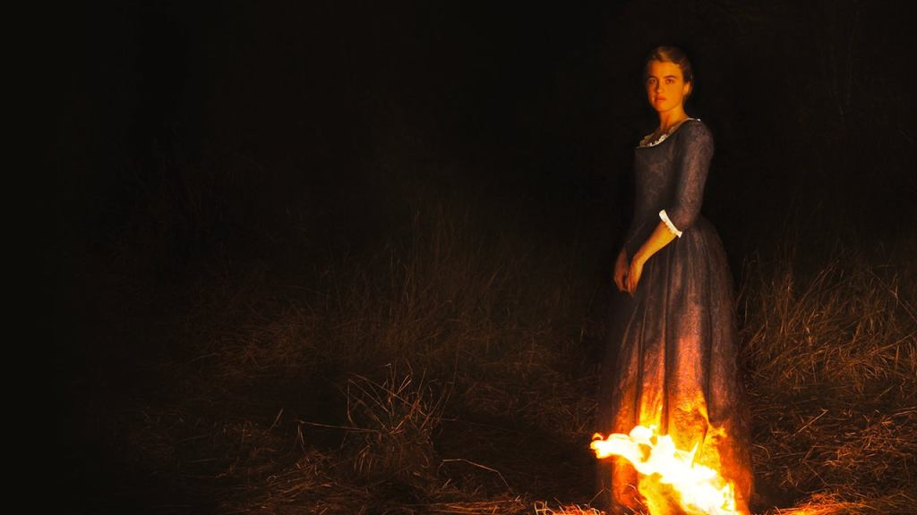This is a film still from PORTRAIT OF A LADY ON FIRE which screens at BFI Southbank on reopening day (17 & 30 MAY).