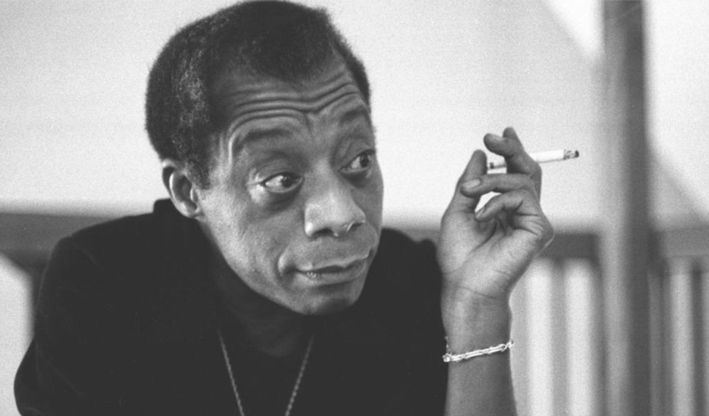 This is a film still from JAMES BALDWIN - THE PRICE OF THE TICKET, showing at Stanley Arts (01 to 04 AUG).