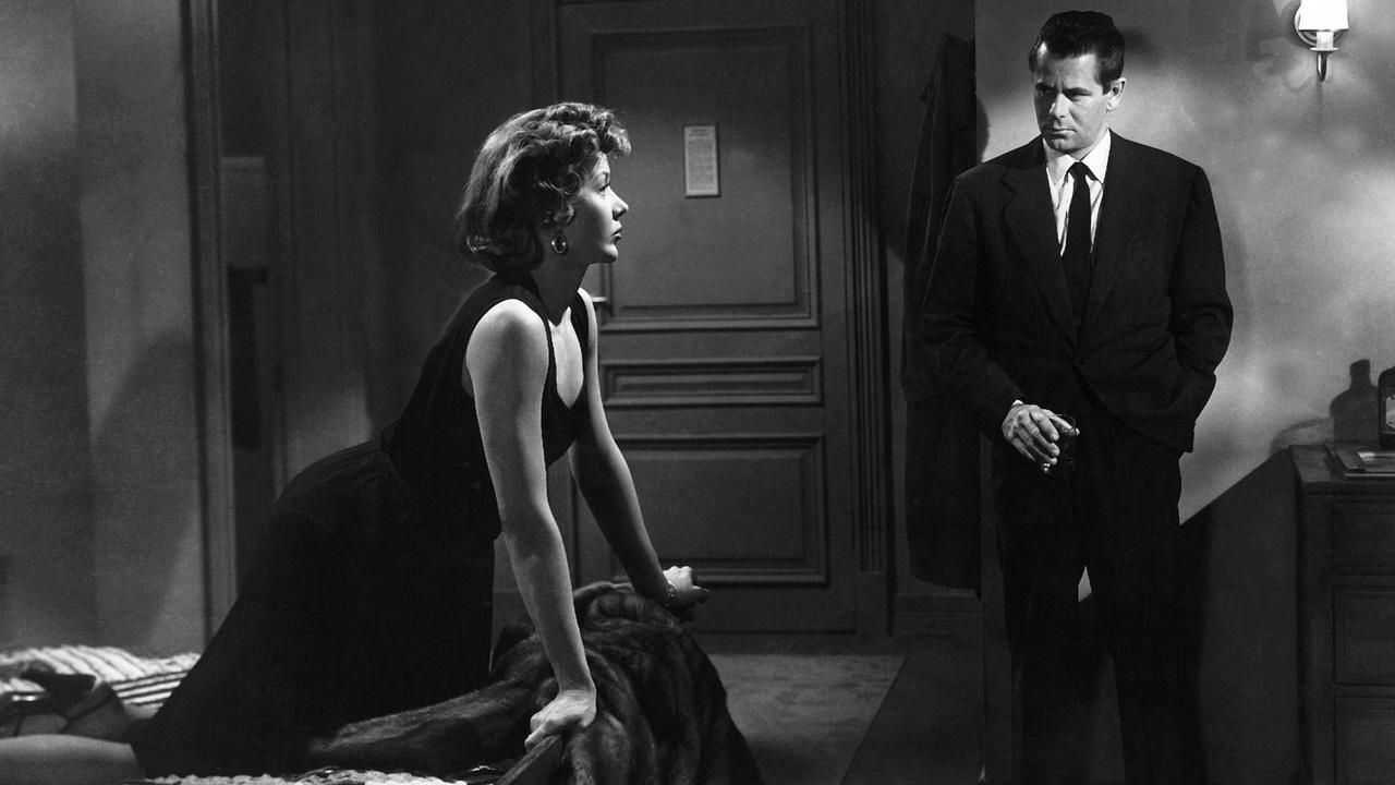 This is a film still from THE BIG HEAT (1953), presented by Wimbledon Film Club at Curzon Wimbledon (13 July 2022).