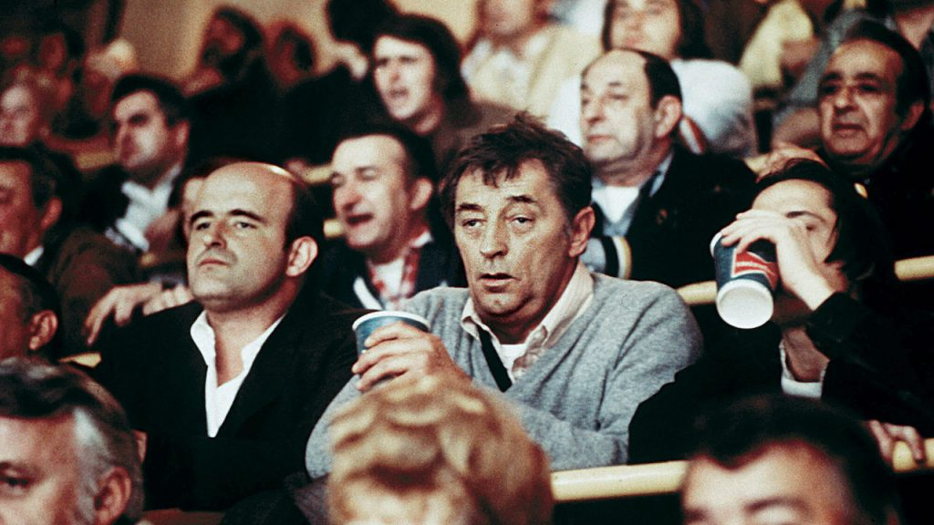 This is a film still from THE FRIENDS OF EDDIE COYLE, screening at Tufnell Park Film Club (27 July 2021).