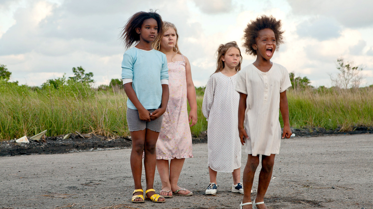 This is a film still from BEASTS OF THE SOUTHERN WILD, presented by No Planet B film club at Catford Mews (12 August 2021).