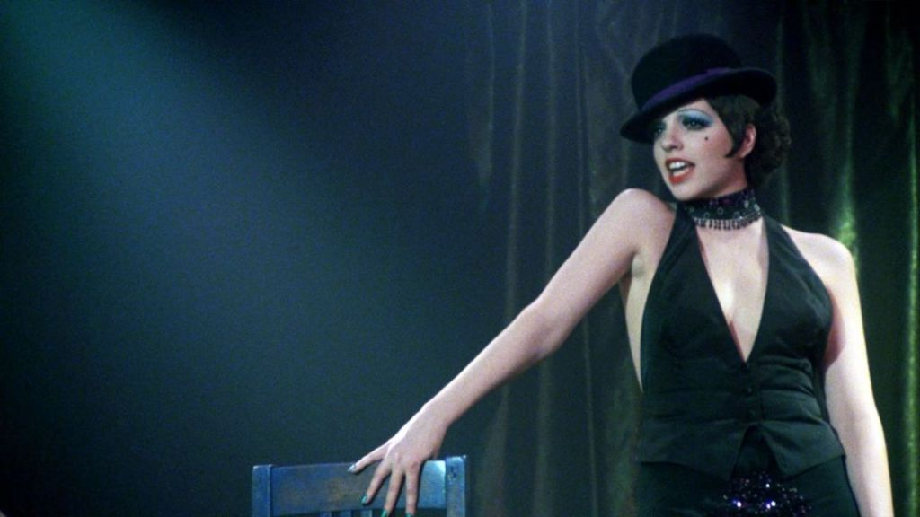 This is a film still from CABARET (1972).