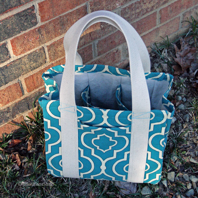 Divided Tote Bag | Radiant Home Studio
