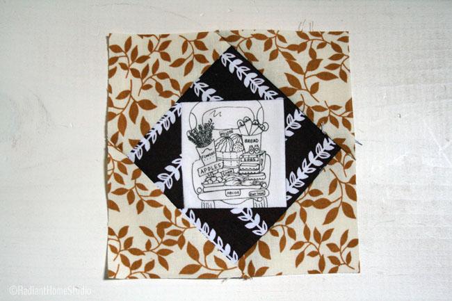 Vintage Economy Quilt Block| Radiant Home Studio