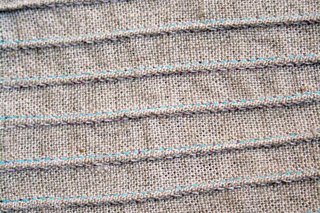 Sewing Twin Needle Pintucks | Radiant Home Studio