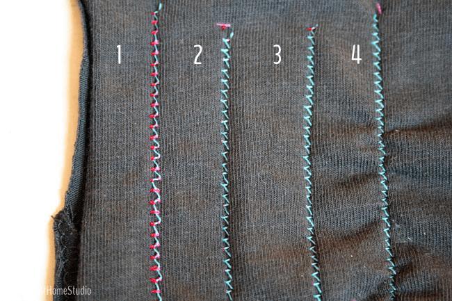 Sewing Twin Needle Back | Radiant Home Studio