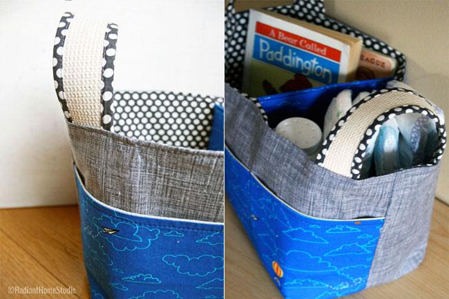 Noodlehead Divided Basket Lisette | Radiant Home Studio