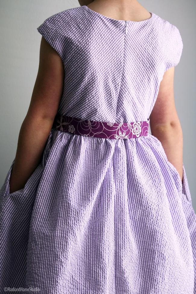 Caroline Party Dress Back | Radiant Home Studio