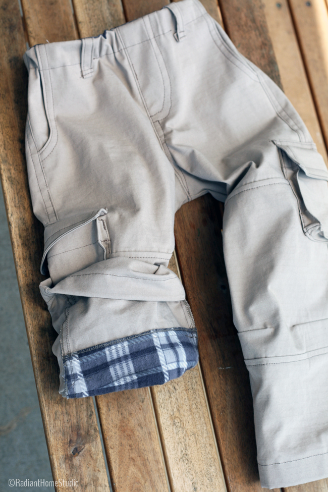 Field Trip Cargo Pants | Articulated Knee Lining | Radiant Home Studio