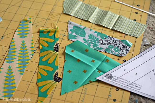 Tessellation Quilt Block | Foundation Paper Piecing | Radiant Home Studio