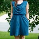 Teal Colette Myrtle Dress   Radiant Home Studio