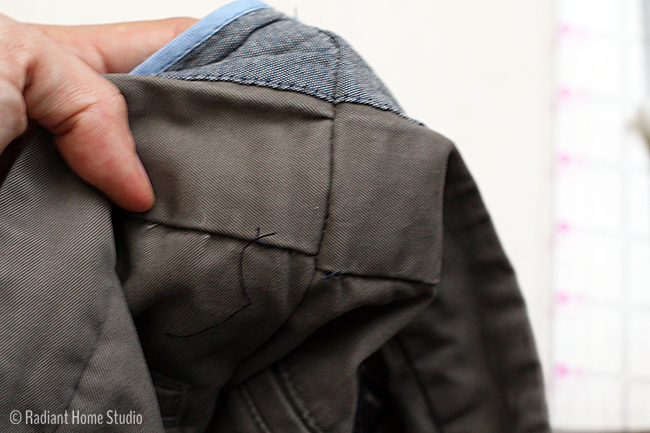 Alter the Waist of Mens Pants | Radiant Home Studio
