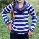 Striped Bimaa Sweatshirt   Radiant Home Studio