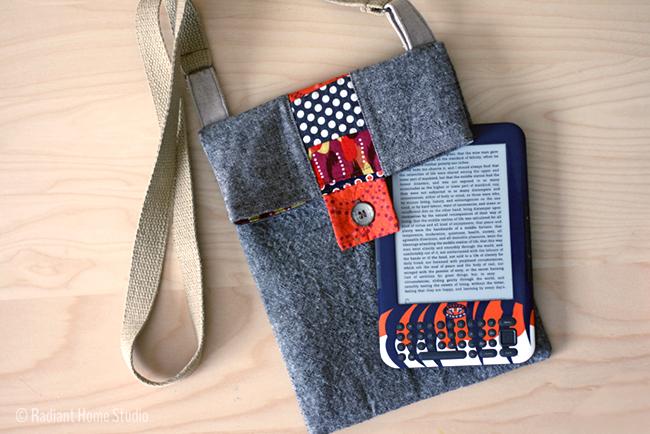 Sew a Tablet Bag Tutorial | Radiant Home Studio