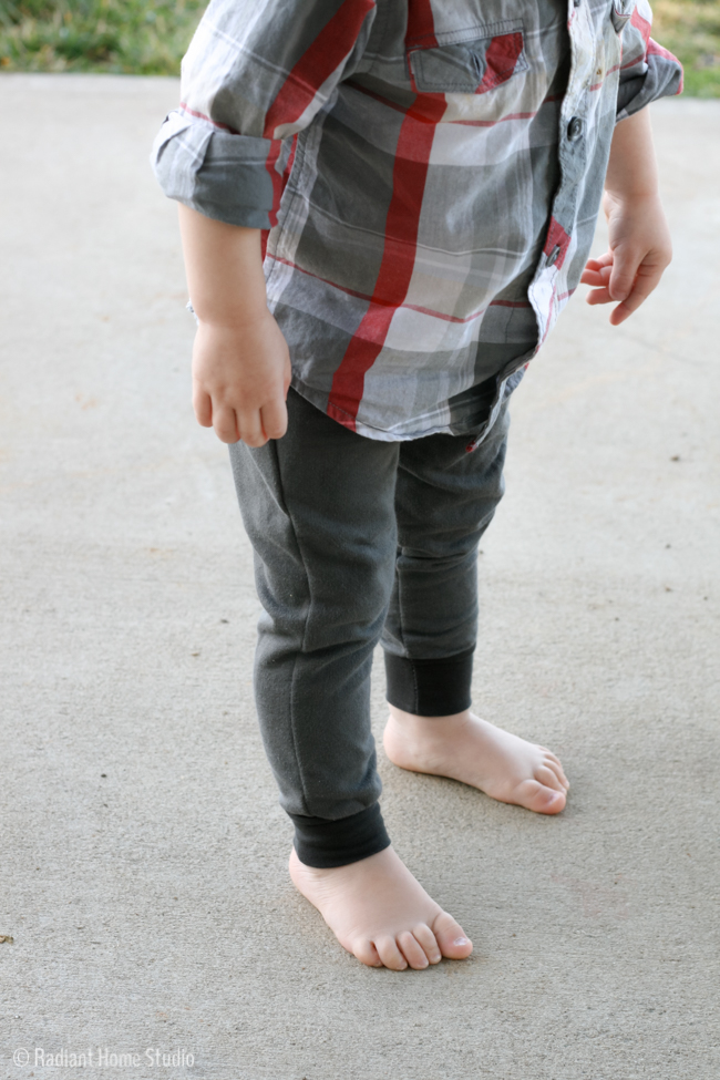 Mini Hudson Pants Pattern | Radiant Home Studio