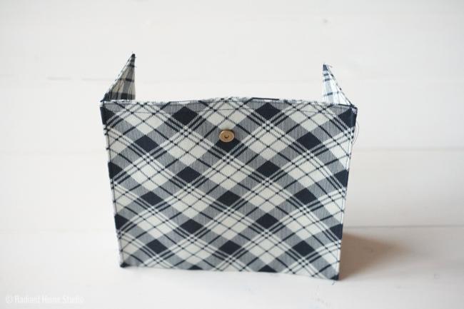 Add a Cargo Pocket to a Tote Bag | Tote Bag Upgrade | Radiant Home Studio