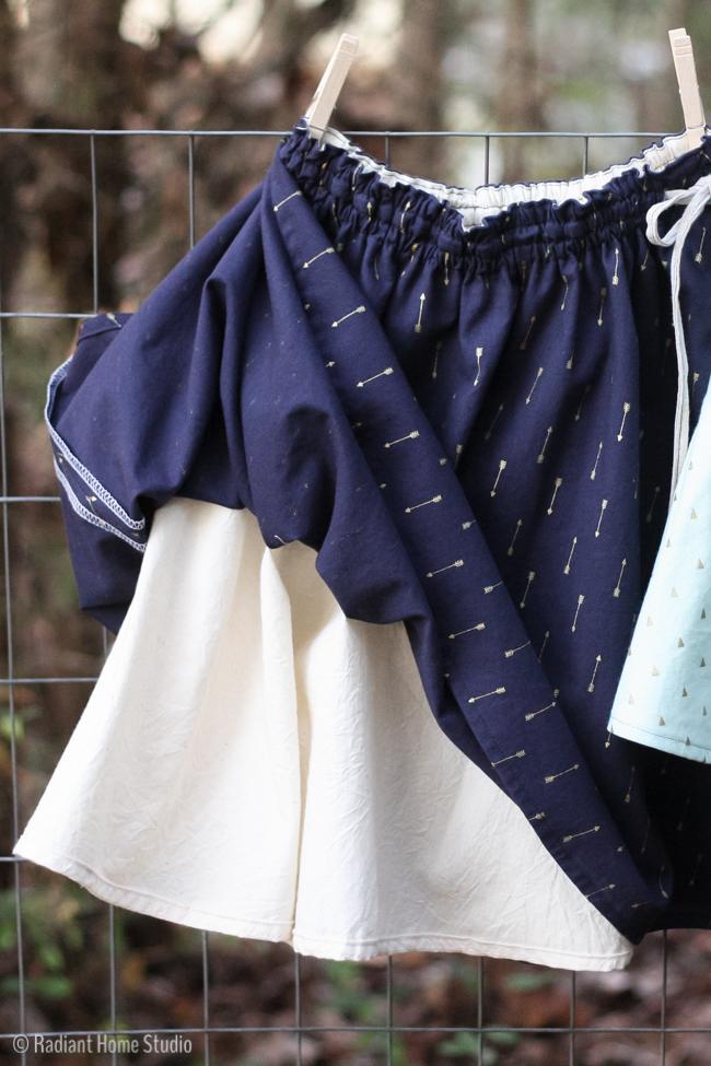 Swingset Skirts   Oliver + S   Radiant Home Studio