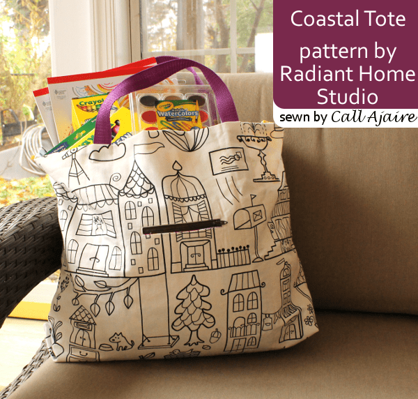 Call Ajaire | Coastal Tote Bag | Radiant Home Studio Blog Tour