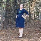 Blue Out & About Dress   Radiant Home Studio