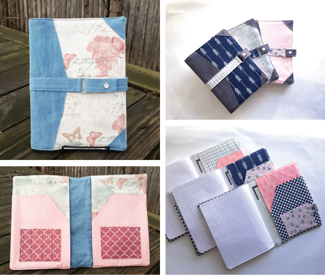 North Pond Notebook Cover Tester Versions | Radiant Home Studio