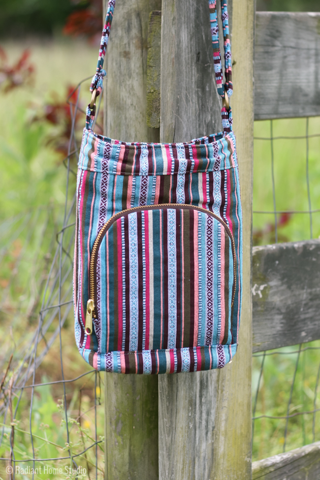 Boho Airport Sling from On The Go Bags | Radiant Home Studio