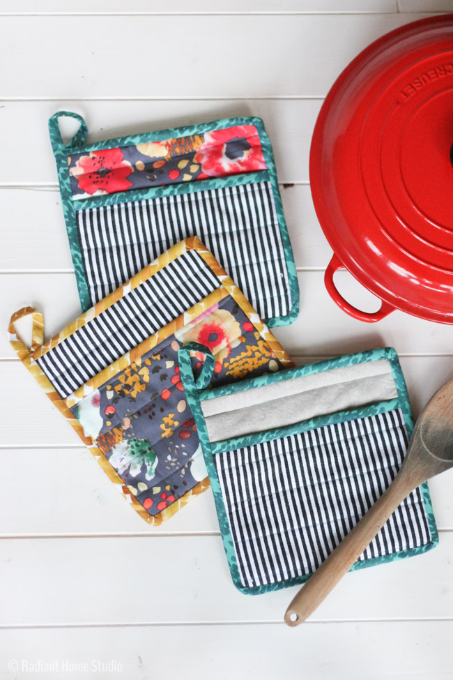 Learn How To Sew A Simple Potholder For Your Kitchen Radiant Home