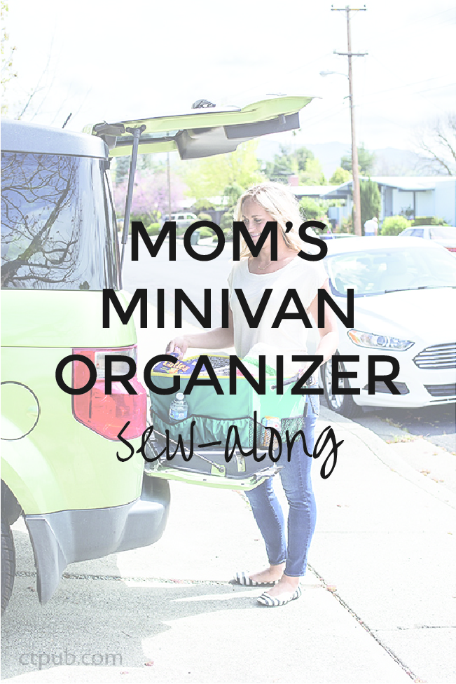 Mom's MInivan Organizer Sew-along | On the Go Bags | Radiant Home Studio