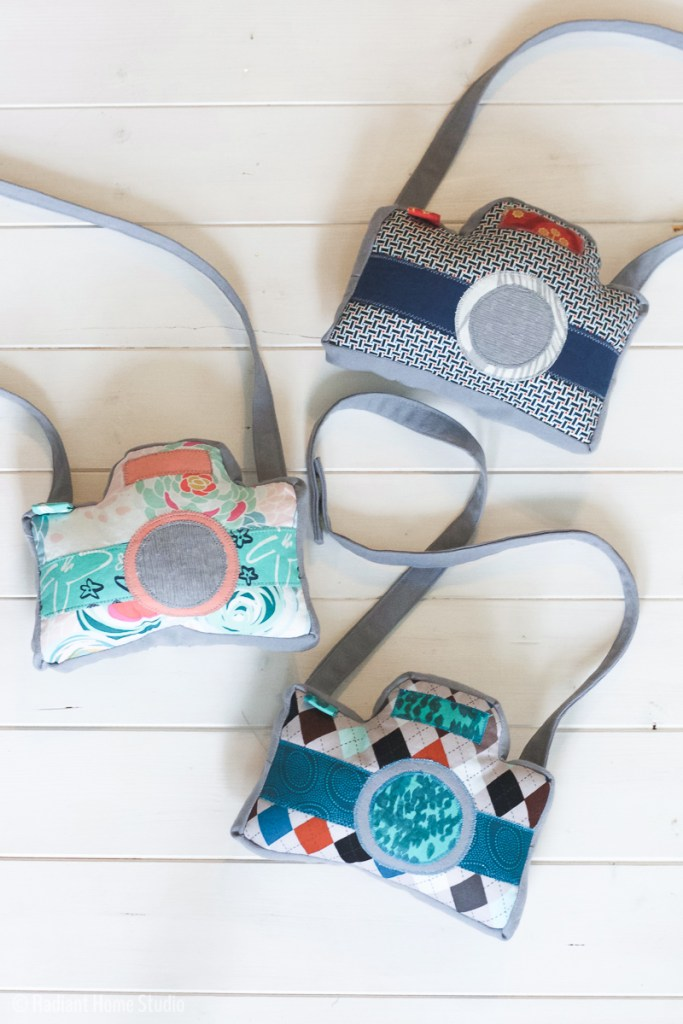 Little Photographer Camera Pattern by Swoodson Says | Handmade Gift for Preschooler | Radiant Home Studio