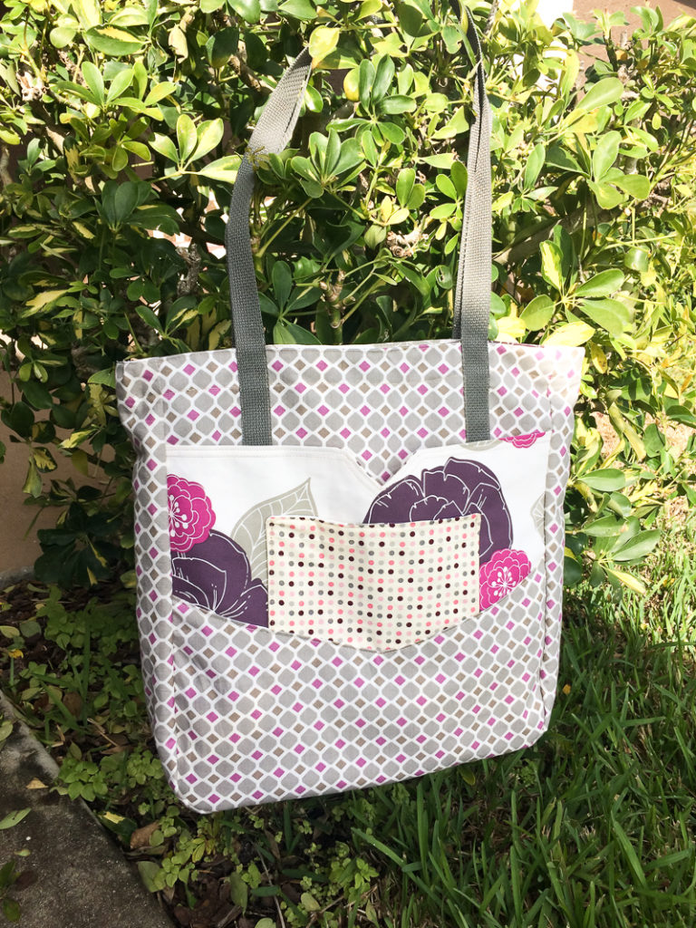 Penfield Pocket Tote Testers   by Becki   Radiant Home Studio