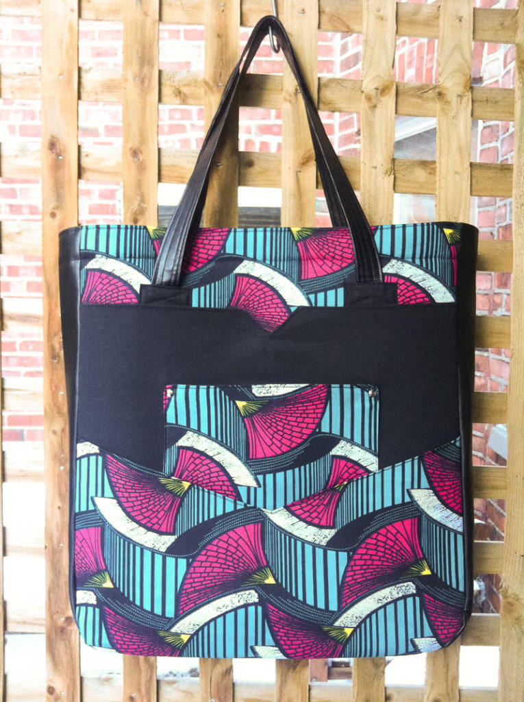 Penfield Pocket Tote   by Tammy   Radiant Home Studio