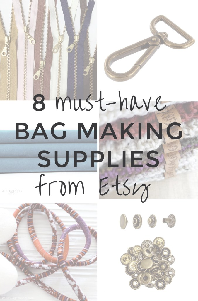 8 Stylish Sewing & Bag Making Supplies on Etsy | Radiant Home Studio