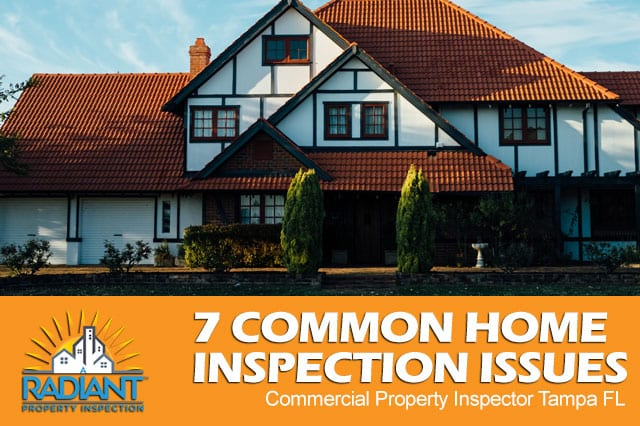 7 Common Home Inspection Issues