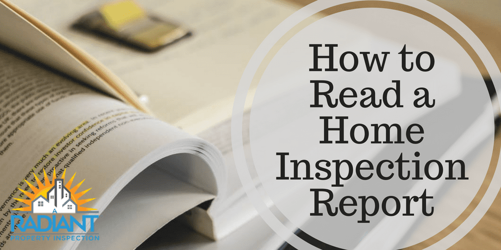 How to Read a Home Inspection Report