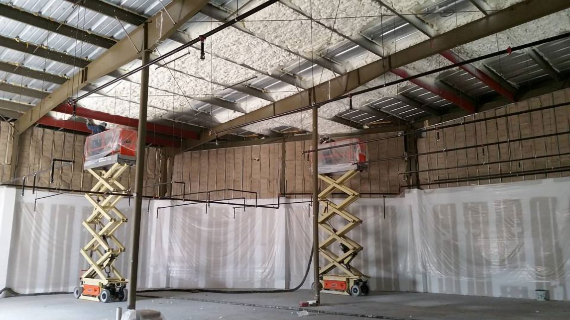 commercial spray foam insulation