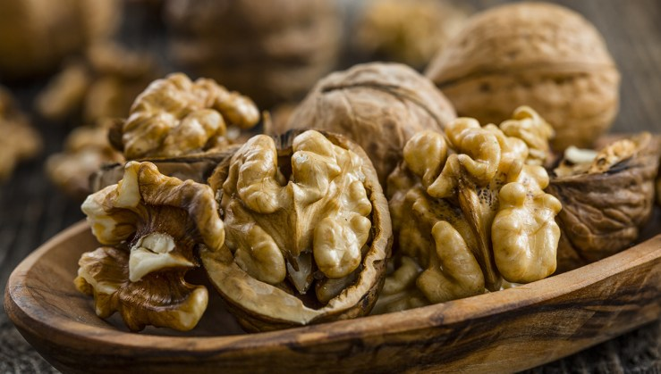 Beat Anxiety with natural remedies, which includes walnuts