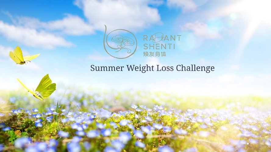 Summer weight loss challenge Radiant Shenti