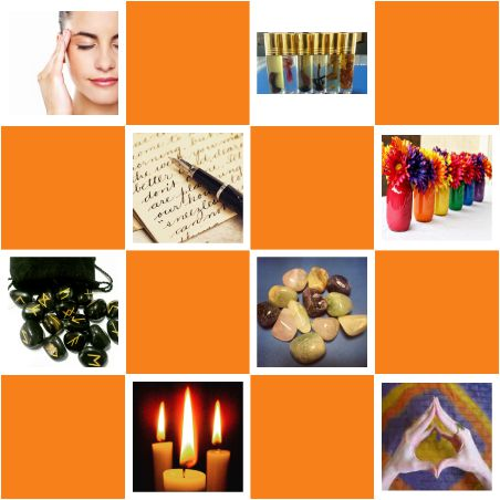 Tarot,Graphology,Numerology,Crystal Therapy,Crystal Ball Gazing,Pendulum Dowsing,Color Therapy,Candle Magik, Angel Card Reading,Rune Reading,Mudra Therapy,Emotional Freedom Technique,Subconscious Mind Power,Vedic Maths,Jolly Phonics