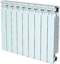 Алюминиевый радиатор Ragall TOP-R