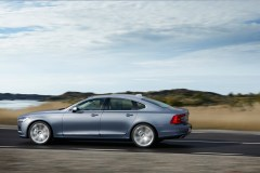Location Rear Quarter Left Volvo S90 Mussel Blue