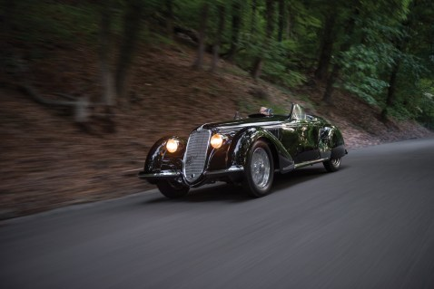 1939 Alfa Romeo 8C 2900B Lungo Spider - 35