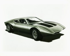 1970_AMC_AMX_3_Vignale_Concept_Car_Design_Sketch