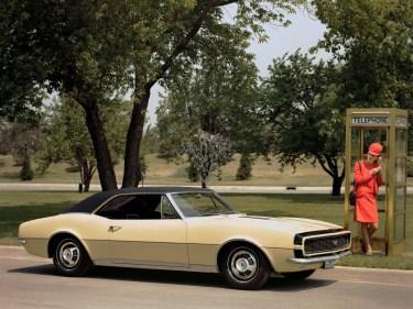 1967 Chevrolet Camaro RS SS Preproduction